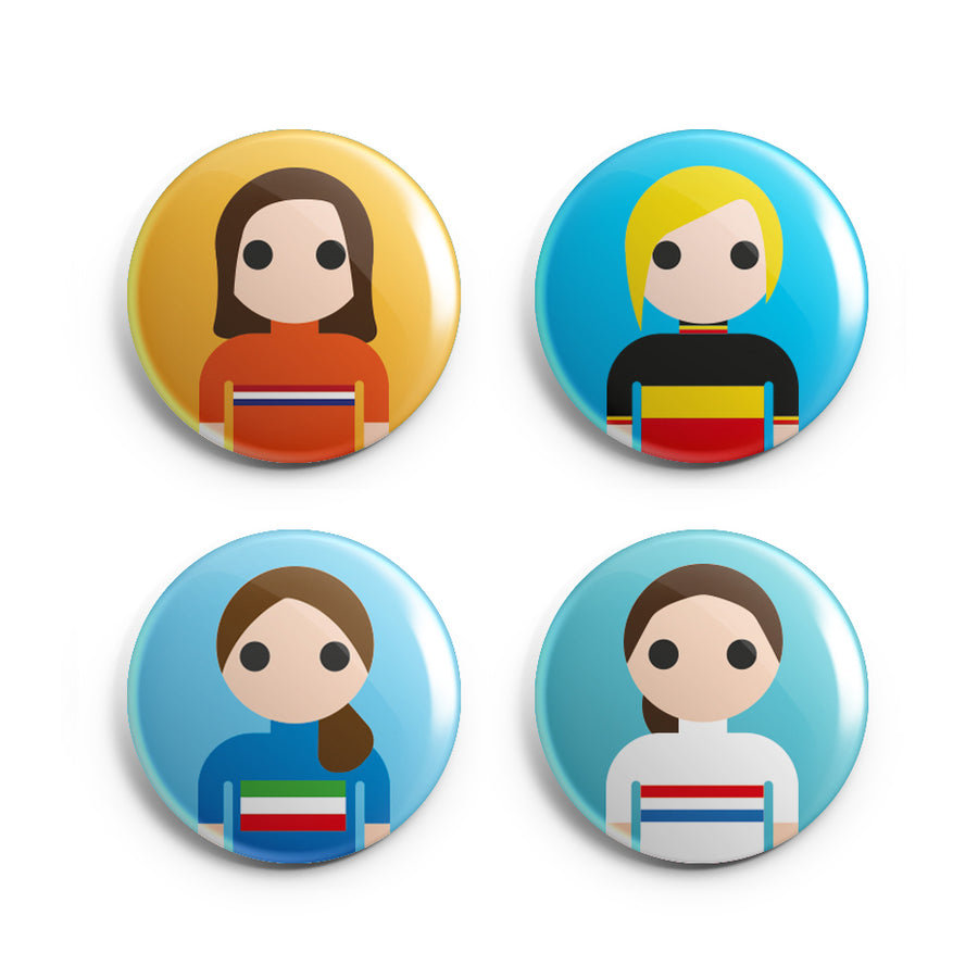 Womens Badge Pack