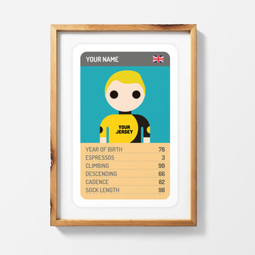 CUSTOMISED TRUMP CARD PRINT