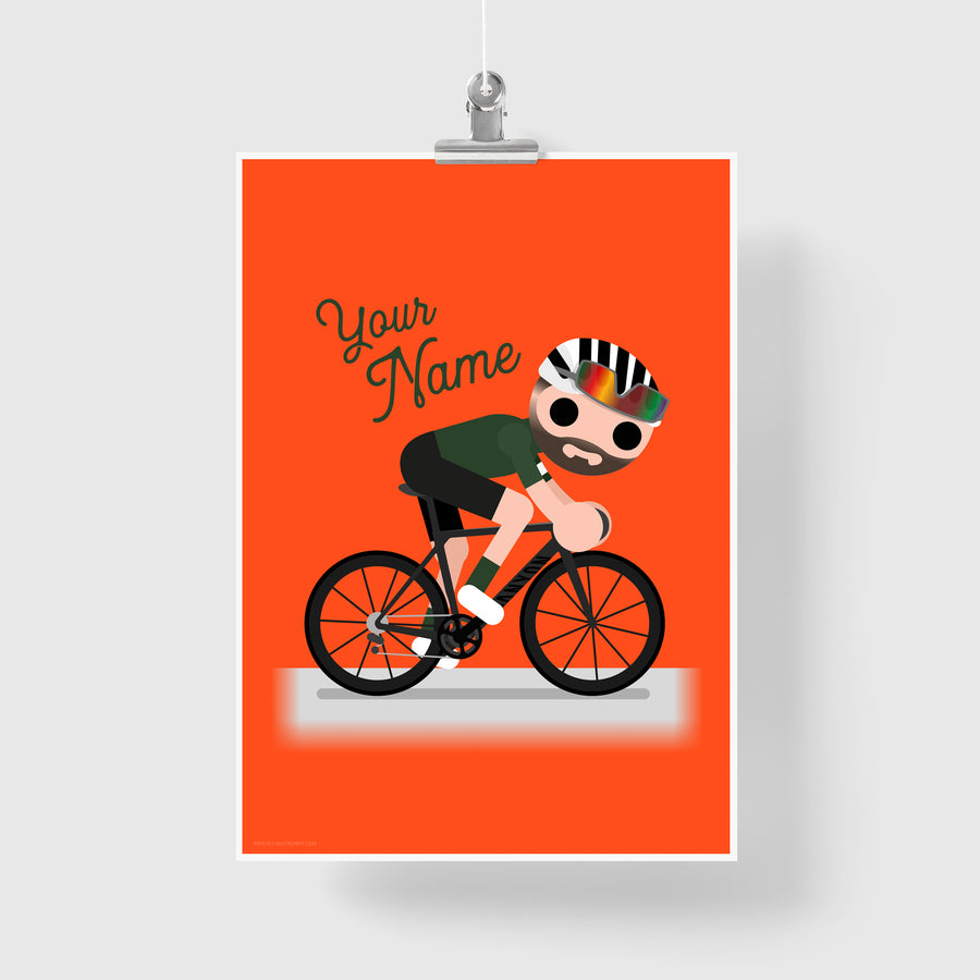 CUSTOMISED RIDER PRINT