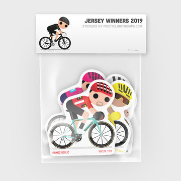 Sticker Pack - Jersey Winners 2019