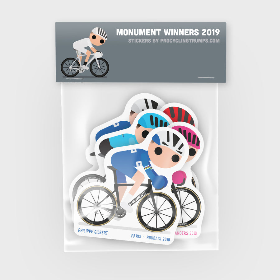 Sticker Pack - Monument Winners 2019
