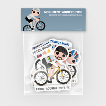 Sticker Pack - Monument Winners 2018