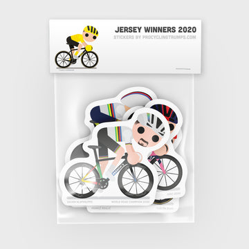 Sticker Pack - Jersey Winners 2020