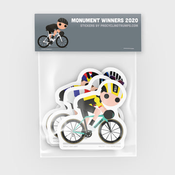 Sticker Pack - Monument Winners 2020