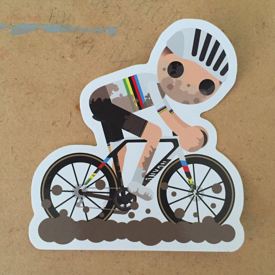 Mathieu van der Poel CX Sticker