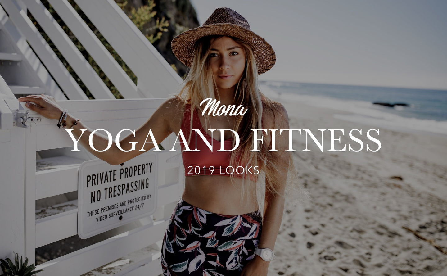 Mona Yoga and Fitness Clothing 2019 Lookbook