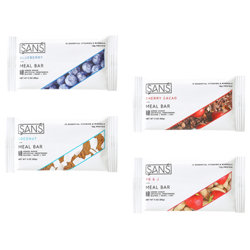 Sans Meal Bar -Variety Pack
