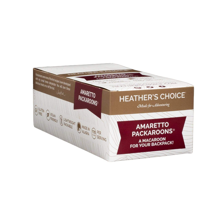 Amaretto Packaroons® (Ten Pack) Snacks Heather's Choice