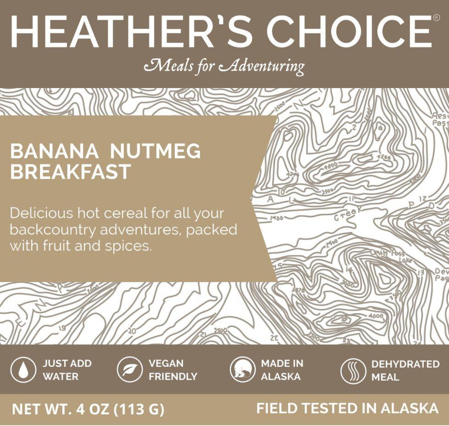 Banana Nutmeg Breakfast Breakfasts Heather's Choice
