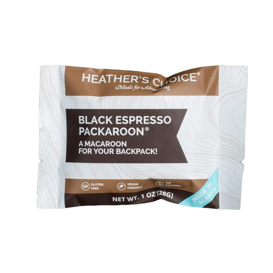 Black Espresso Packaroons® (Single Pack) Snacks Heather's Choice
