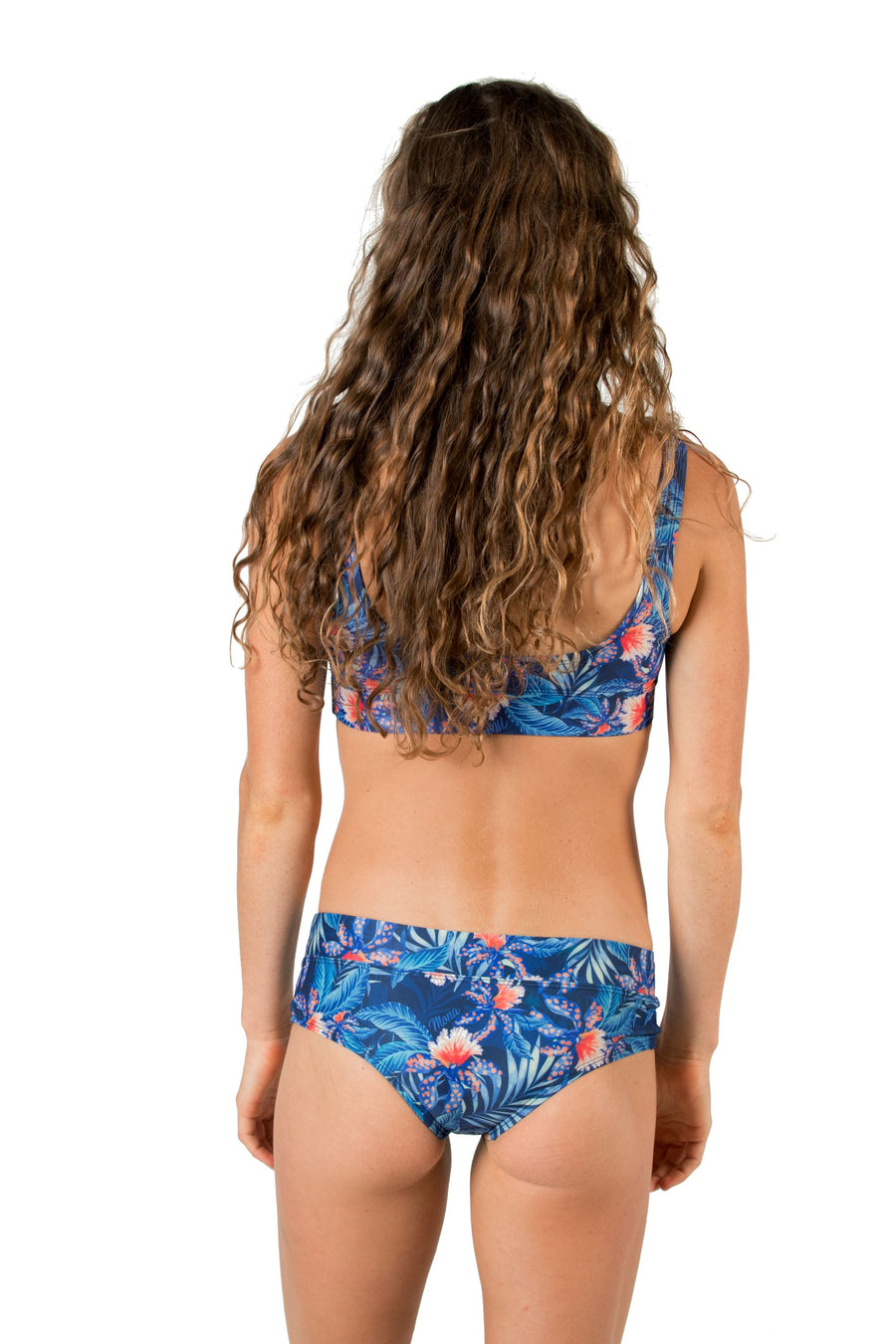 Bliss Cheeky Bikini Bottoms (Blue Wow) Swim and Surf Bottoms Mona
