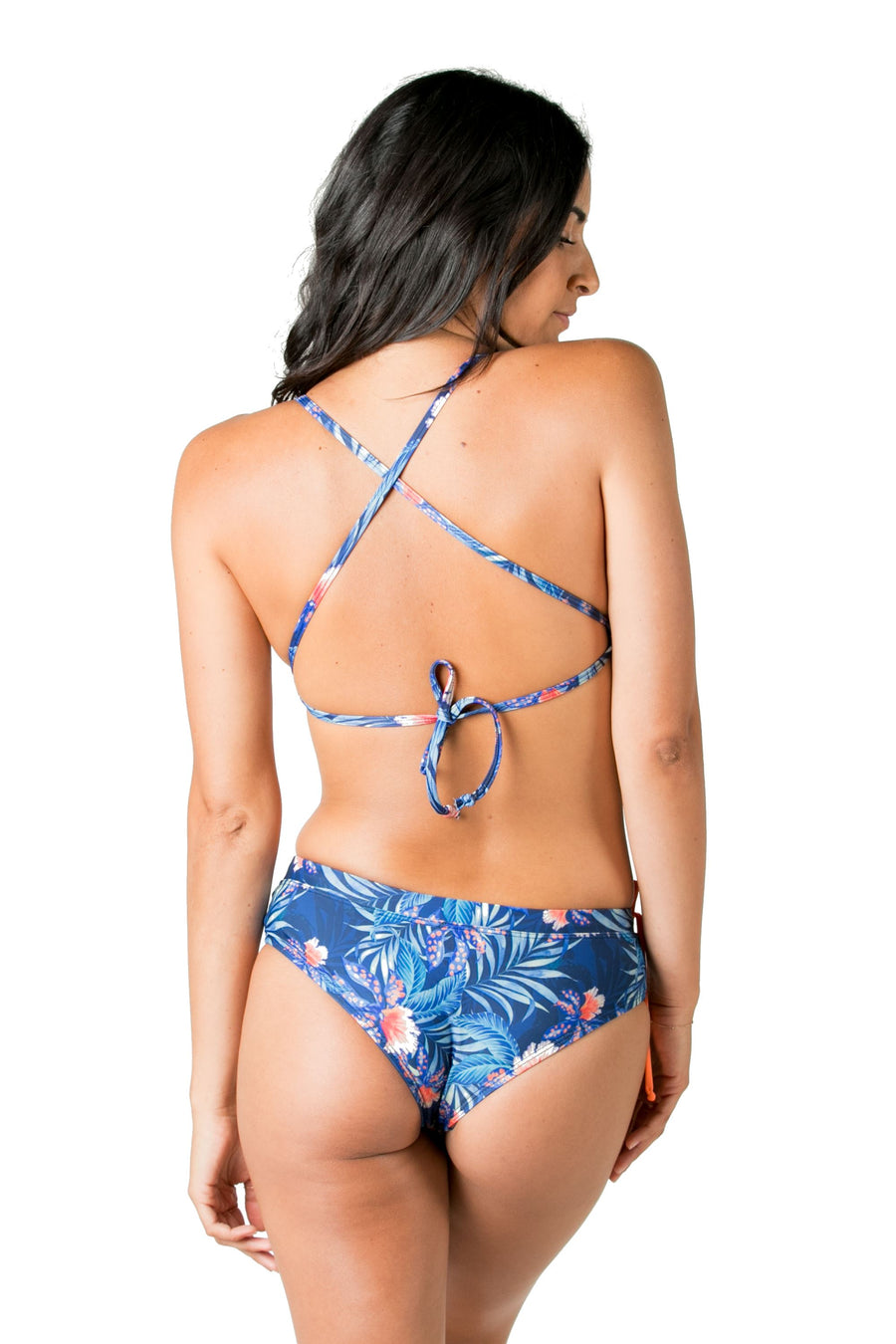 Brisa Cheeky Bikini Bottoms (Blue Wow) Swim and Surf Bottoms Mona