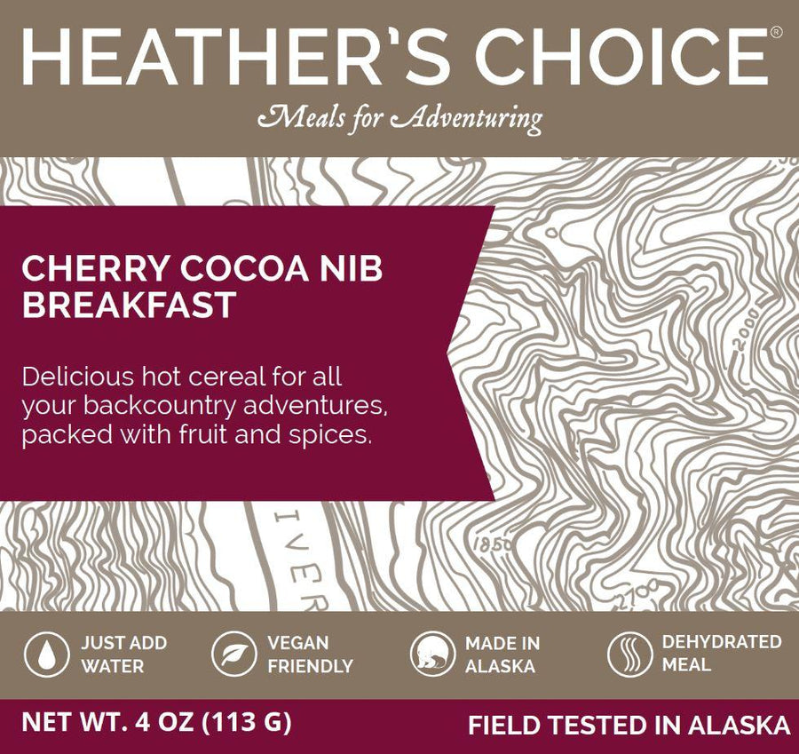 Cherry Cocoa Nib Breakfast Breakfasts Heather's Choice