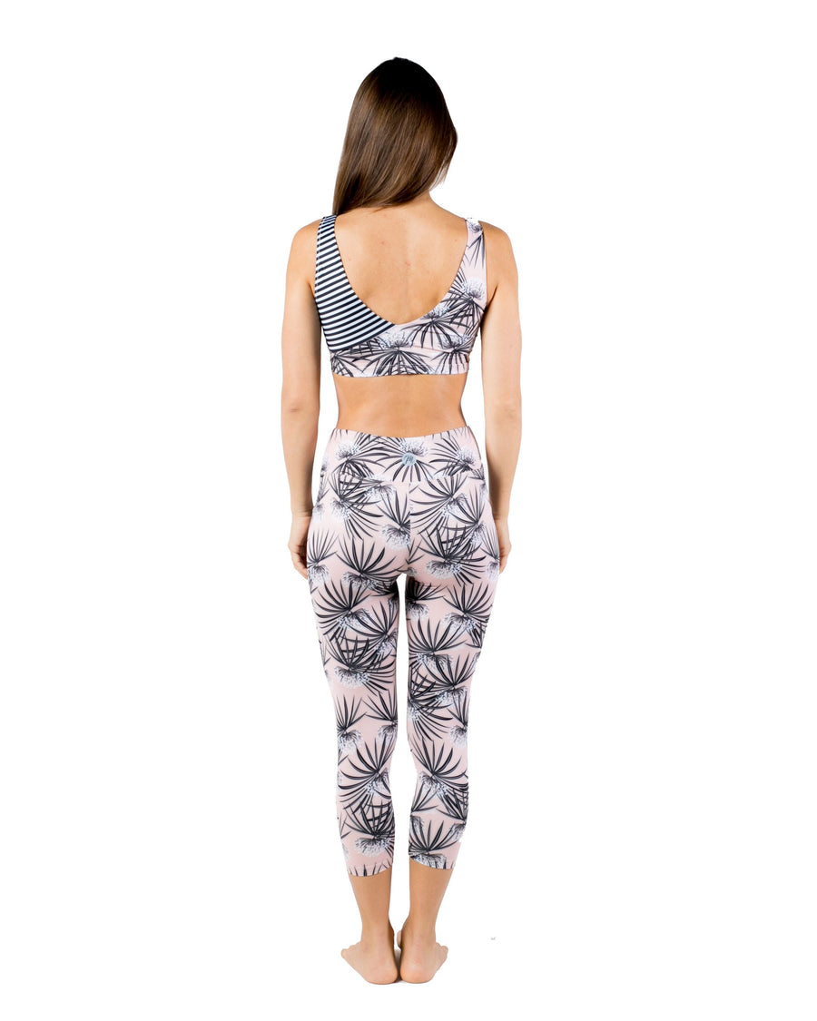 Hope Capri Yoga Pants (Sweet Dreams) Yoga and Fitness Bottoms Mona