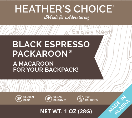 Black Espresso Packaroons® (Ten Pack)