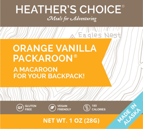 Orange Vanilla Packaroons® (Single Pack)