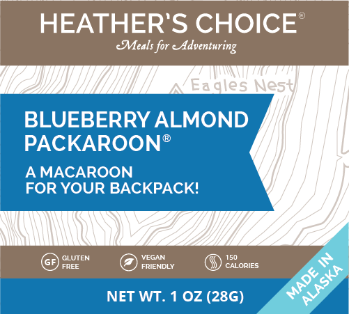 Blueberry Almond Packaroons® (Ten Pack)