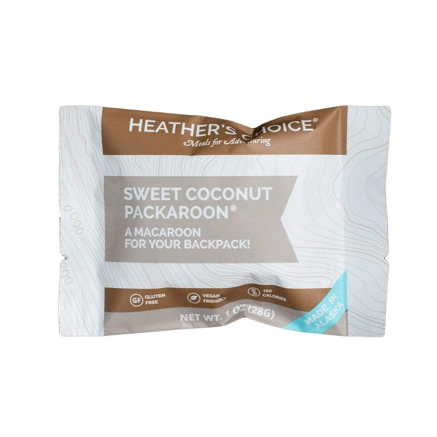 Sweet Coconut Packaroons® (Single Pack) Snacks Heather's Choice