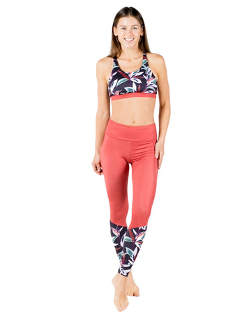 The Dreamer Eco-Friendly Sports Bra (Otoño / Bonfire) Yoga and Fitness Tops Mona
