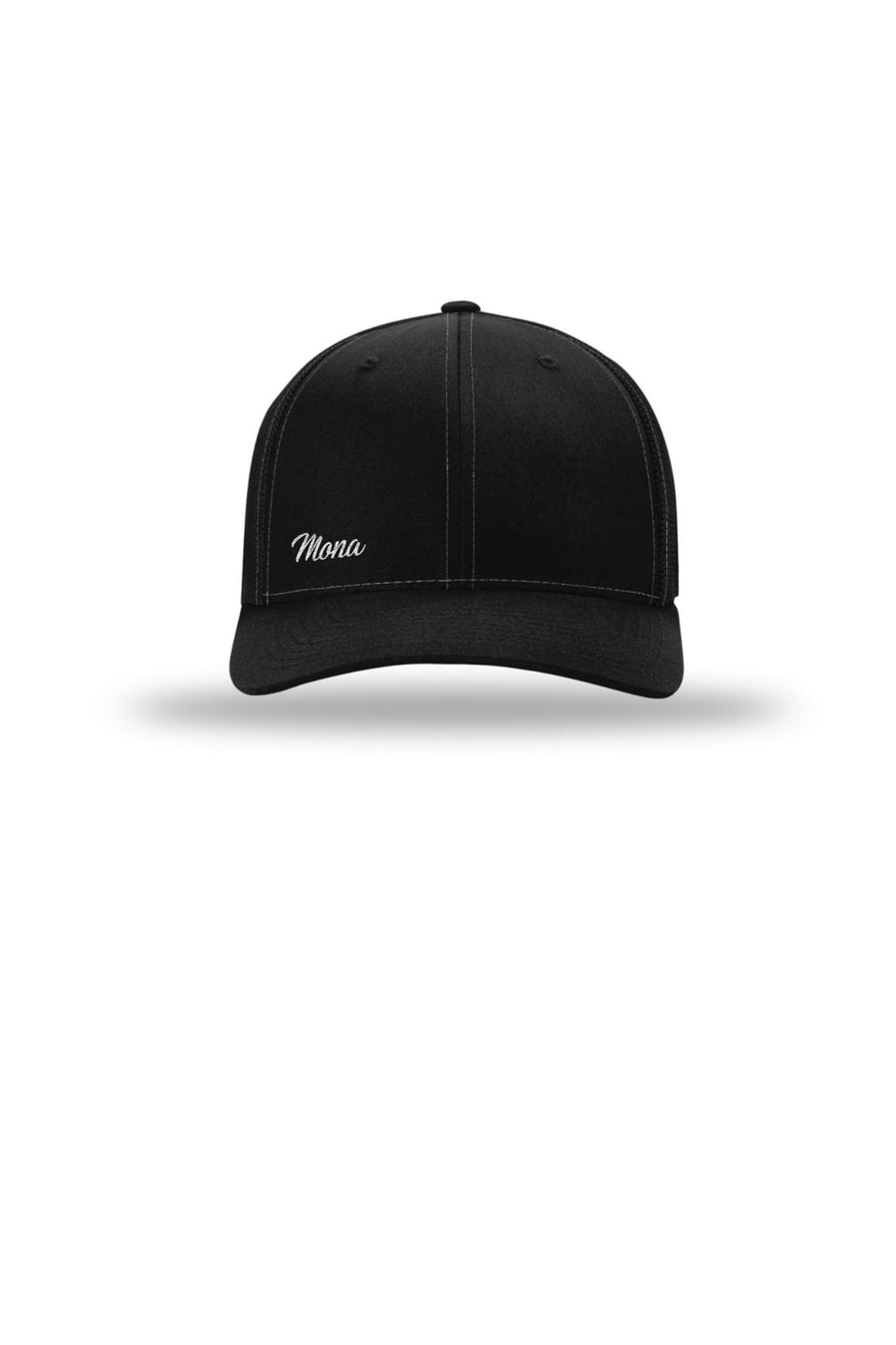 The Mona Workout Cap (Solid Black) Accessories Caps Mona