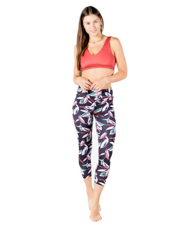 The One Love Eco-Friendly Sports Bra (Bonfire) Yoga and Fitness Tops Mona