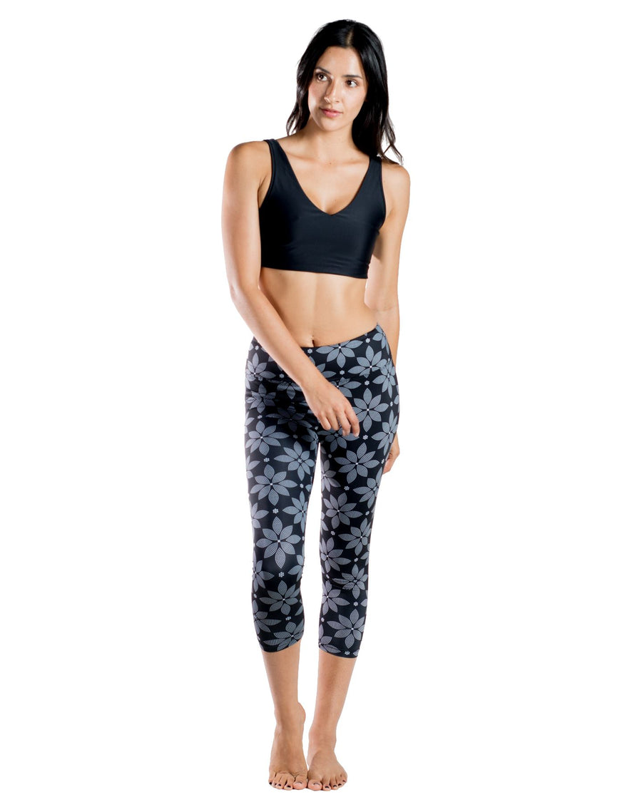 The One Love Eco-Friendly Sports Bra (Floral) Yoga and Fitness Tops Mona