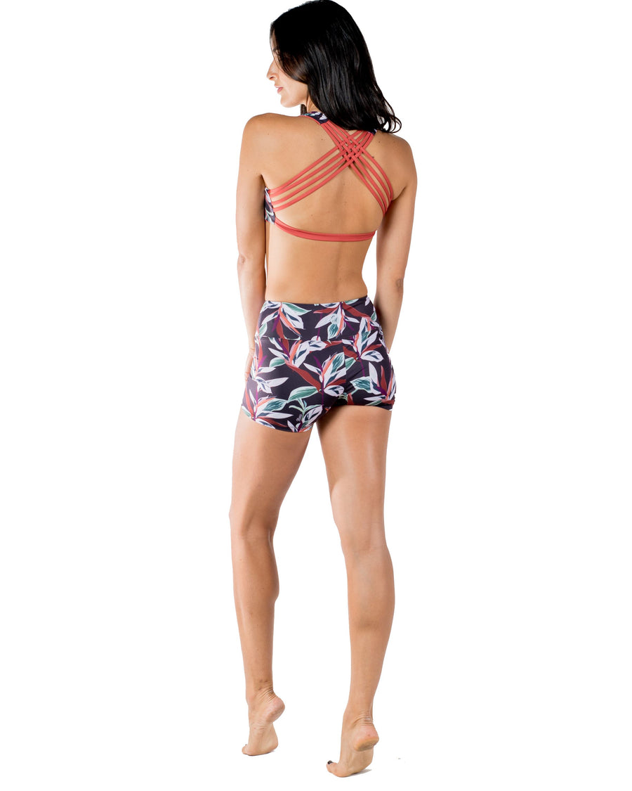 Vida High Wasted Yoga Shorts (Otoño) Yoga and Fitness Bottoms Mona