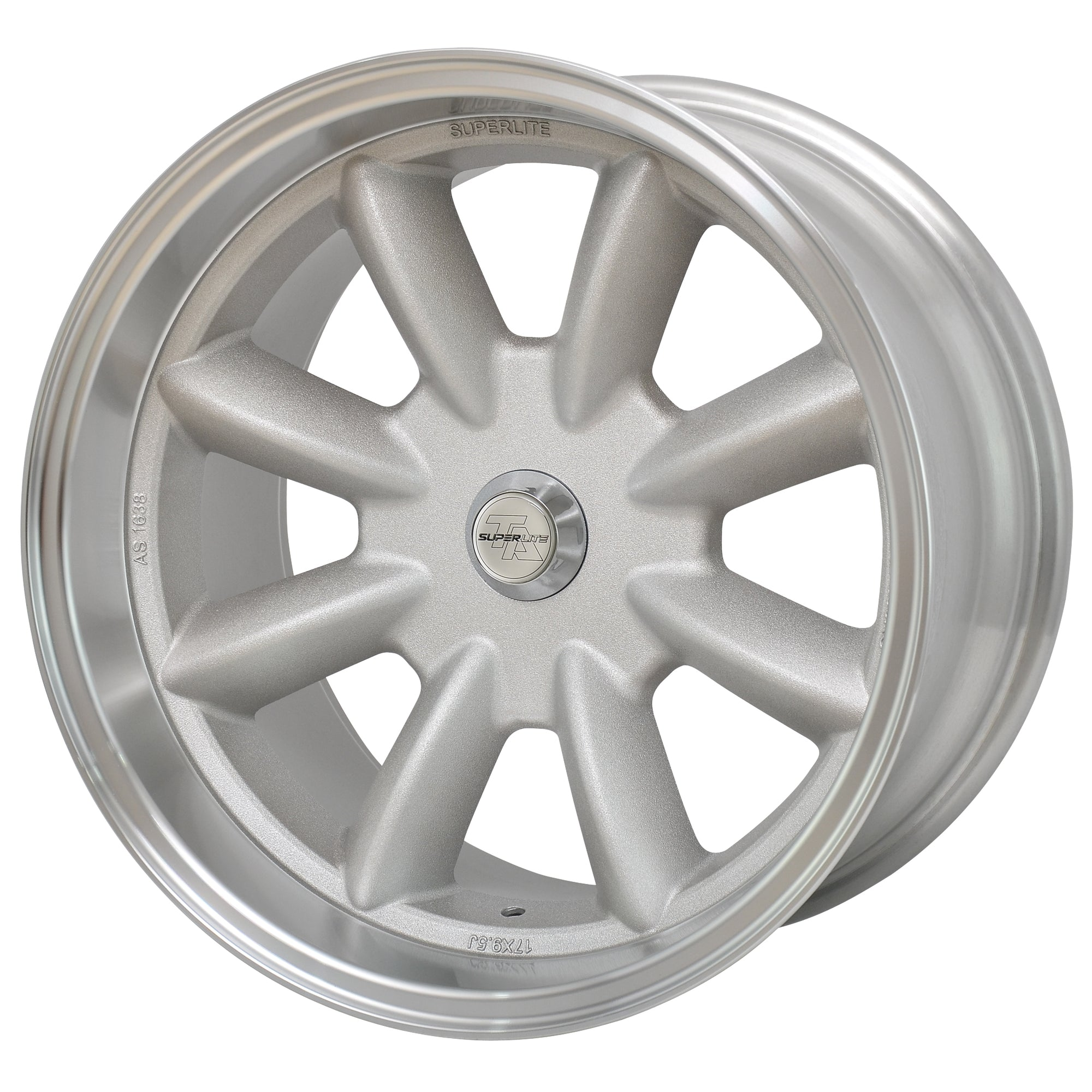 "Superlite 17x9.5 5x114.3 5.5"" Backspacing 73mm Centre Bore SPL1795155"