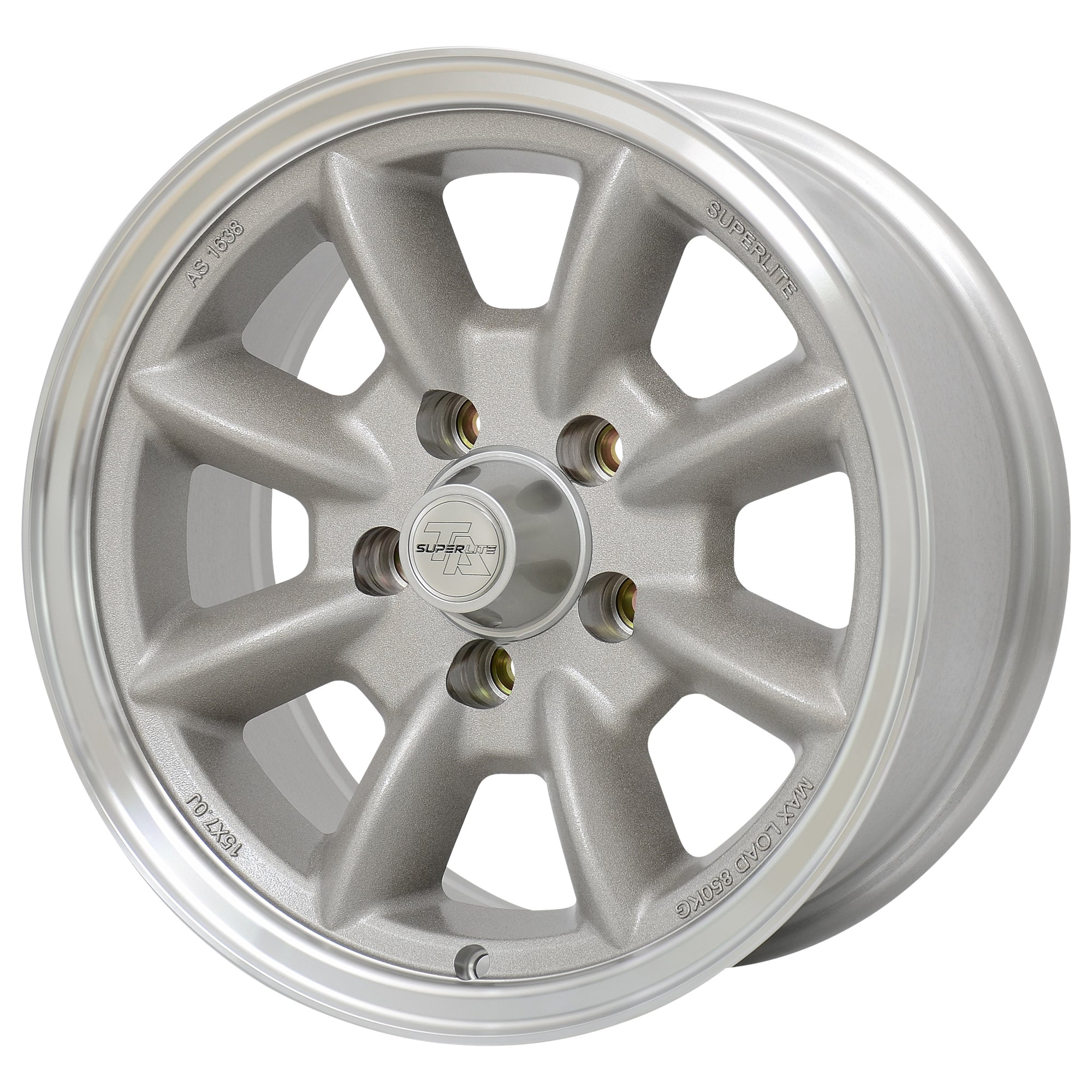 "Superlite 15x7 5x114.3 4"" Backspacing 73mm Centre Bore SPL157140"