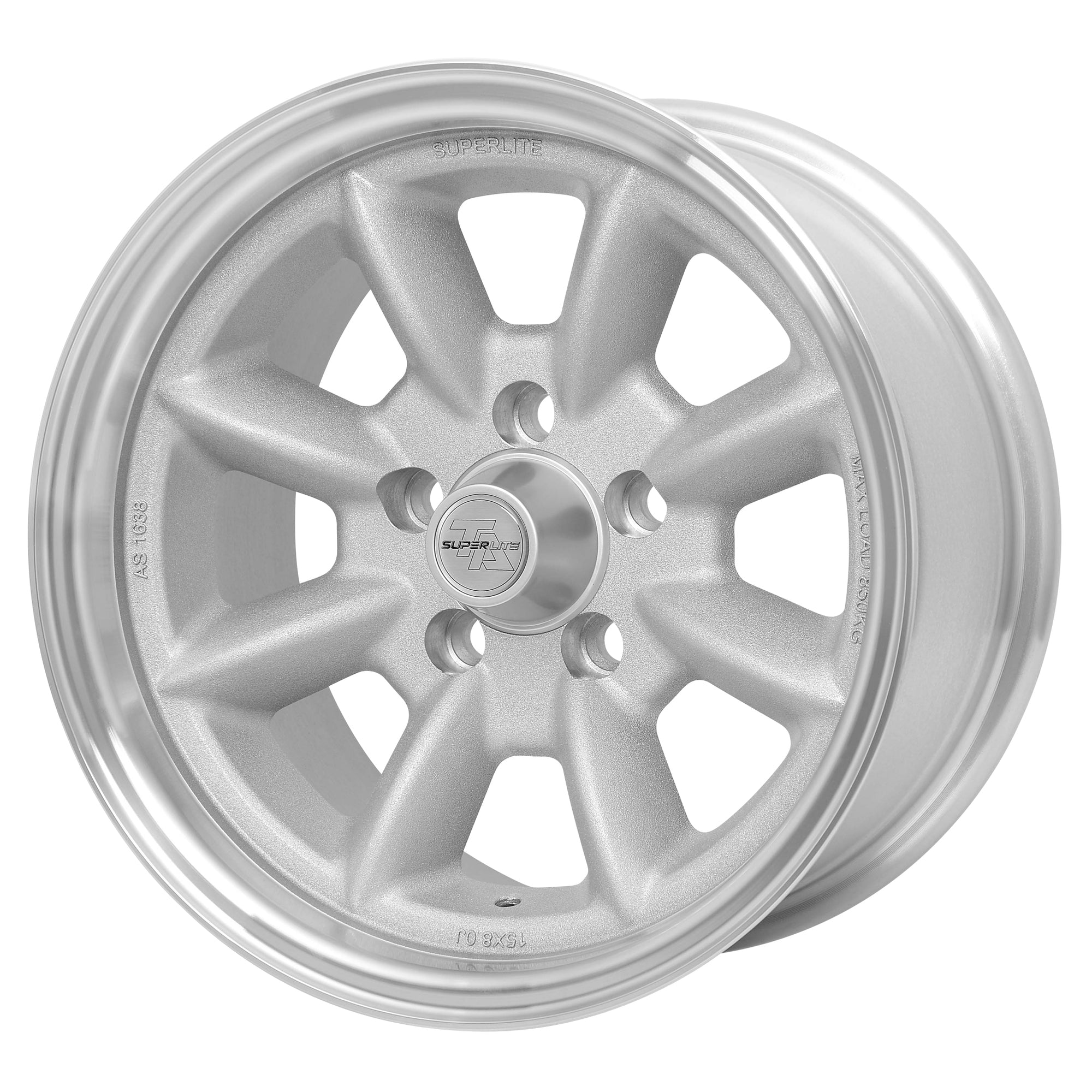 "Superlite 15x8 5x120.65 4.5"" Backspacing 73mm Centre Bore SPL158245"