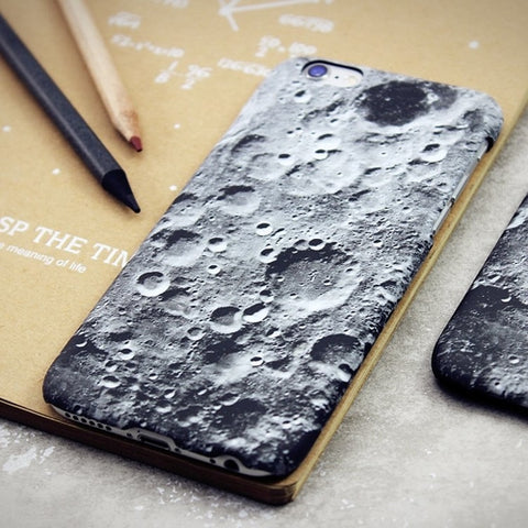 Moon Surface iPhone Case - RBFFTW