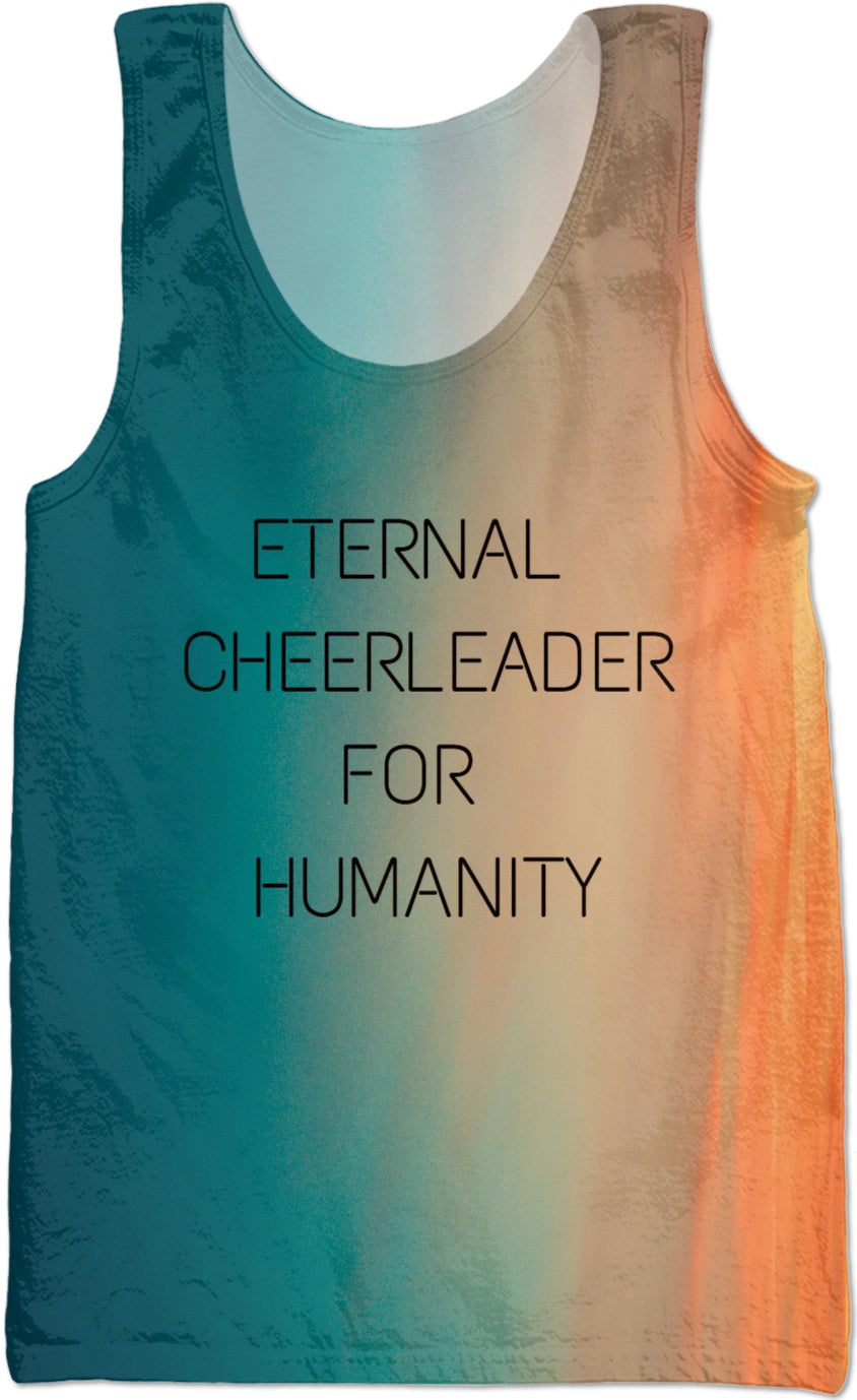 Cheerleader for Humanity Tank Top - RBFFTW