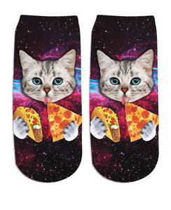 Taco Cat Ankle Socks - RBFFTW