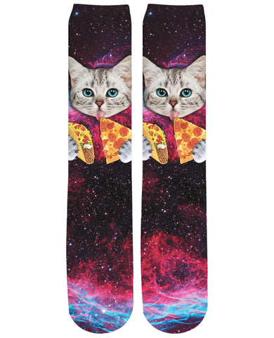 Taco Cat Knee-High Socks - RBFFTW
