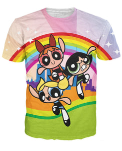 PowerPuff Girls T-Shirt - RBFFTW