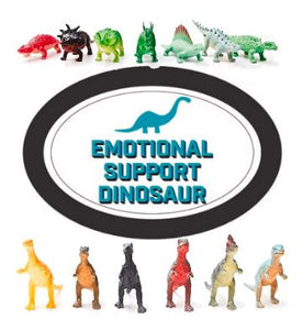 Emotional Support Dinosaur - RBFFTW