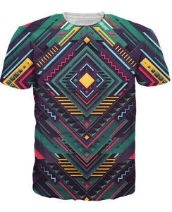 Pure Geometry T-Shirt - RBFFTW