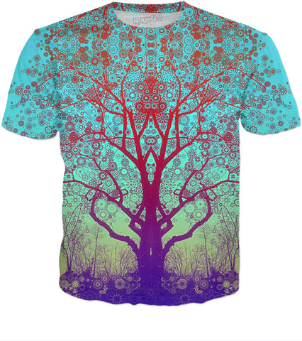 Red Star Trip Tree T-Shirt - RBFFTW