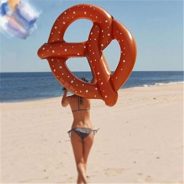 Giant Inflatable Pretzel Pool Float - RBFFTW