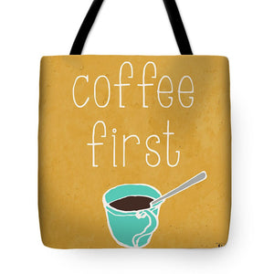 Coffee Or Wine Tote Bag - RBFFTW
