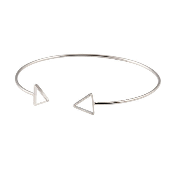 Triangle Love Cuff Bangle - RBFFTW