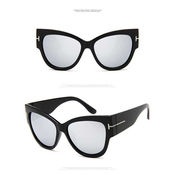 Oversized Retro Sunglasses - RBFFTW