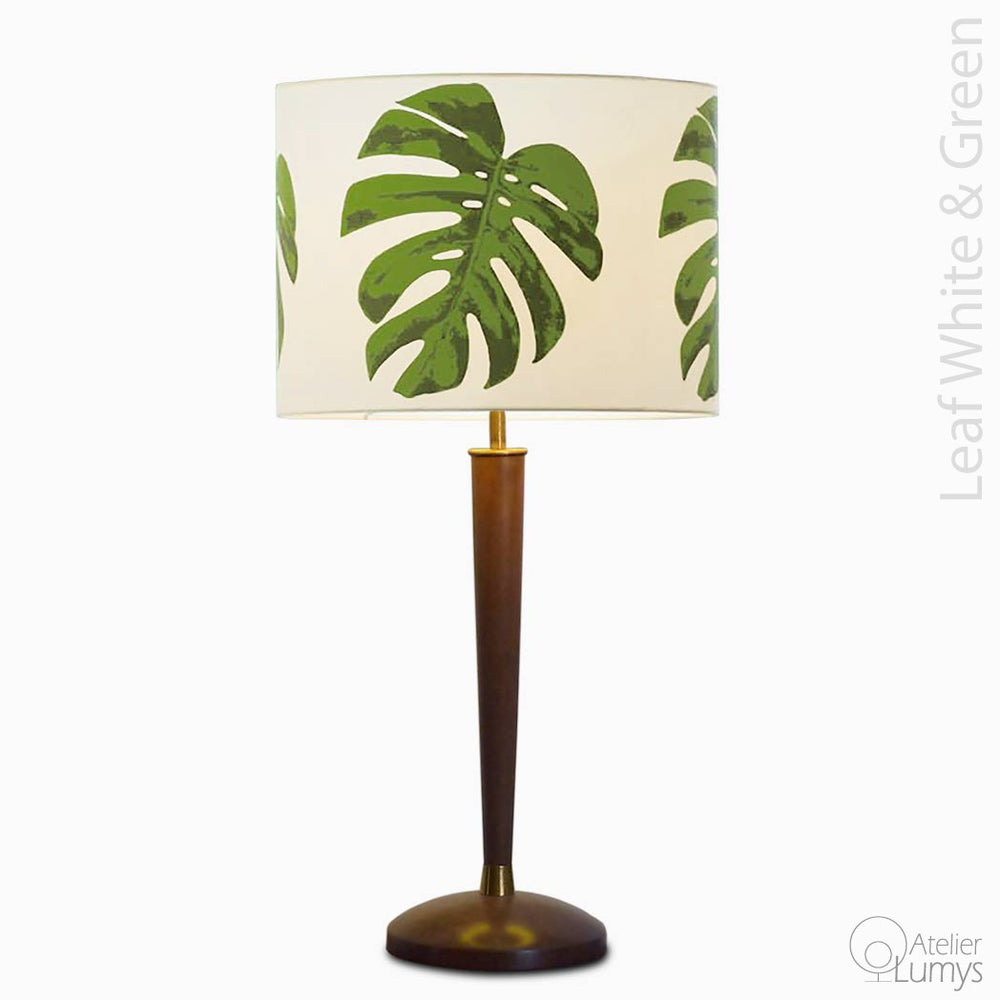 Leaf Tiffany Table Lamp - Atelier Lumys