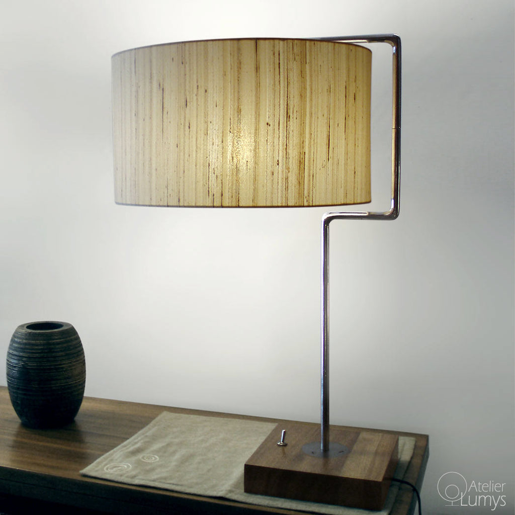 Silk Monaco Table Lamp - Atelier Lumys