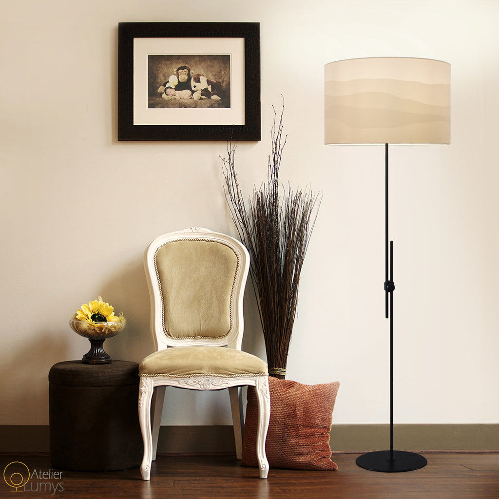 Savannah Adjustable Floor Lamp - Atelier Lumys