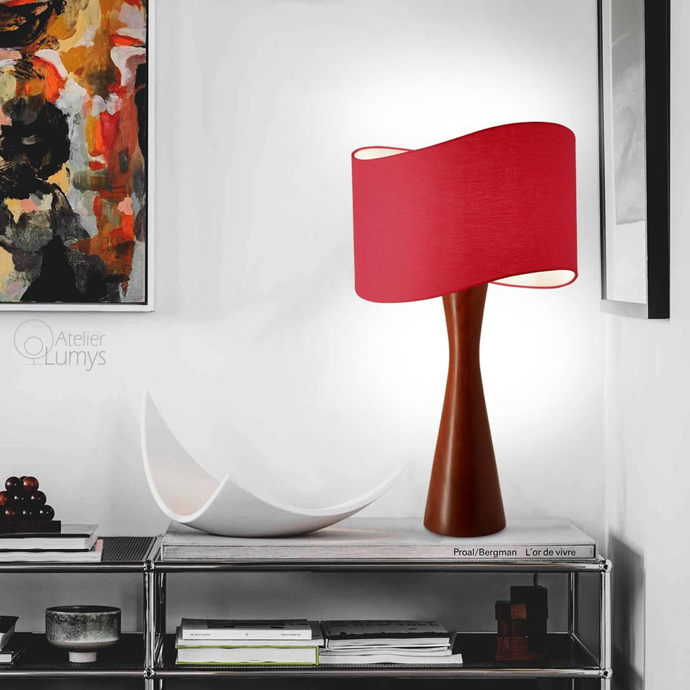 Helice Quille Table Lamp - Atelier Lumys