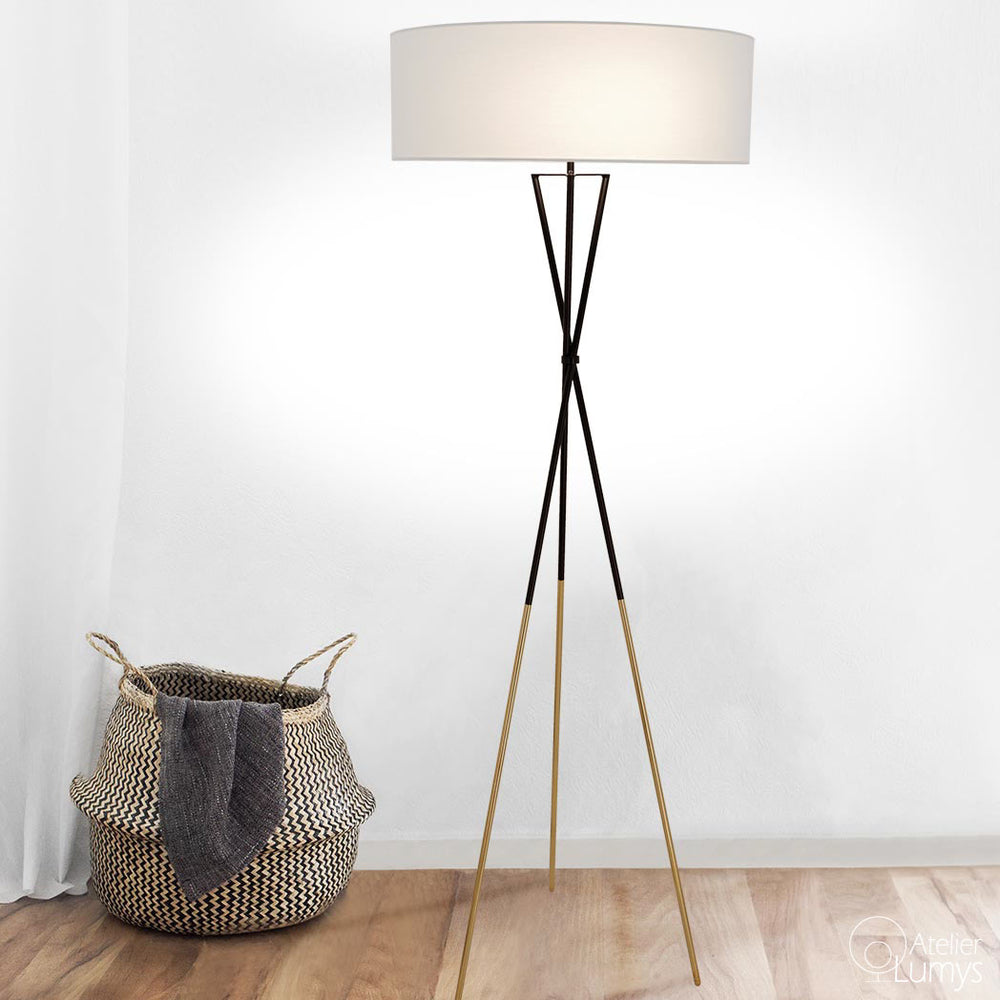 Zen Fifty's Tripod Floor Lamp - Atelier Lumys