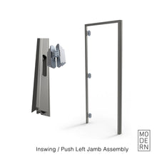 Load image into Gallery viewer, Inswing/Push Left<br>Frameless Door Jamb | Interior door frame