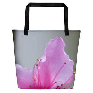 Beach Bag - Italian Style - Peach Flower - I Love Giveaways