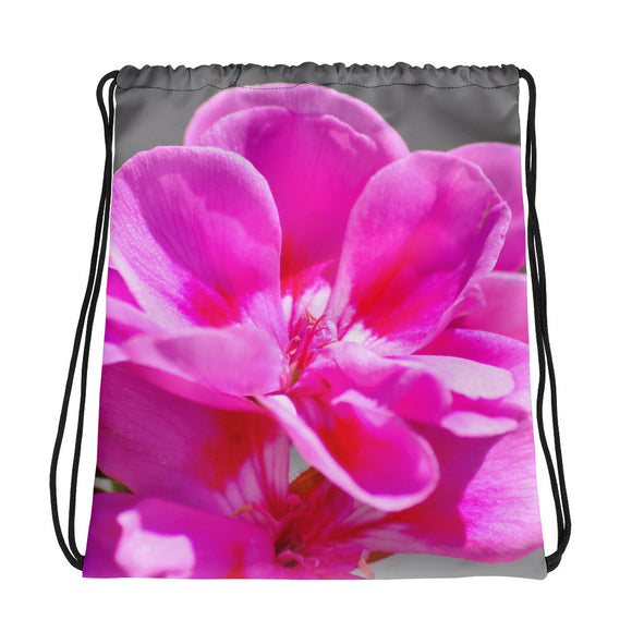 Drawstring bag - Italian Style - Geranium 2 - I Love Giveaways